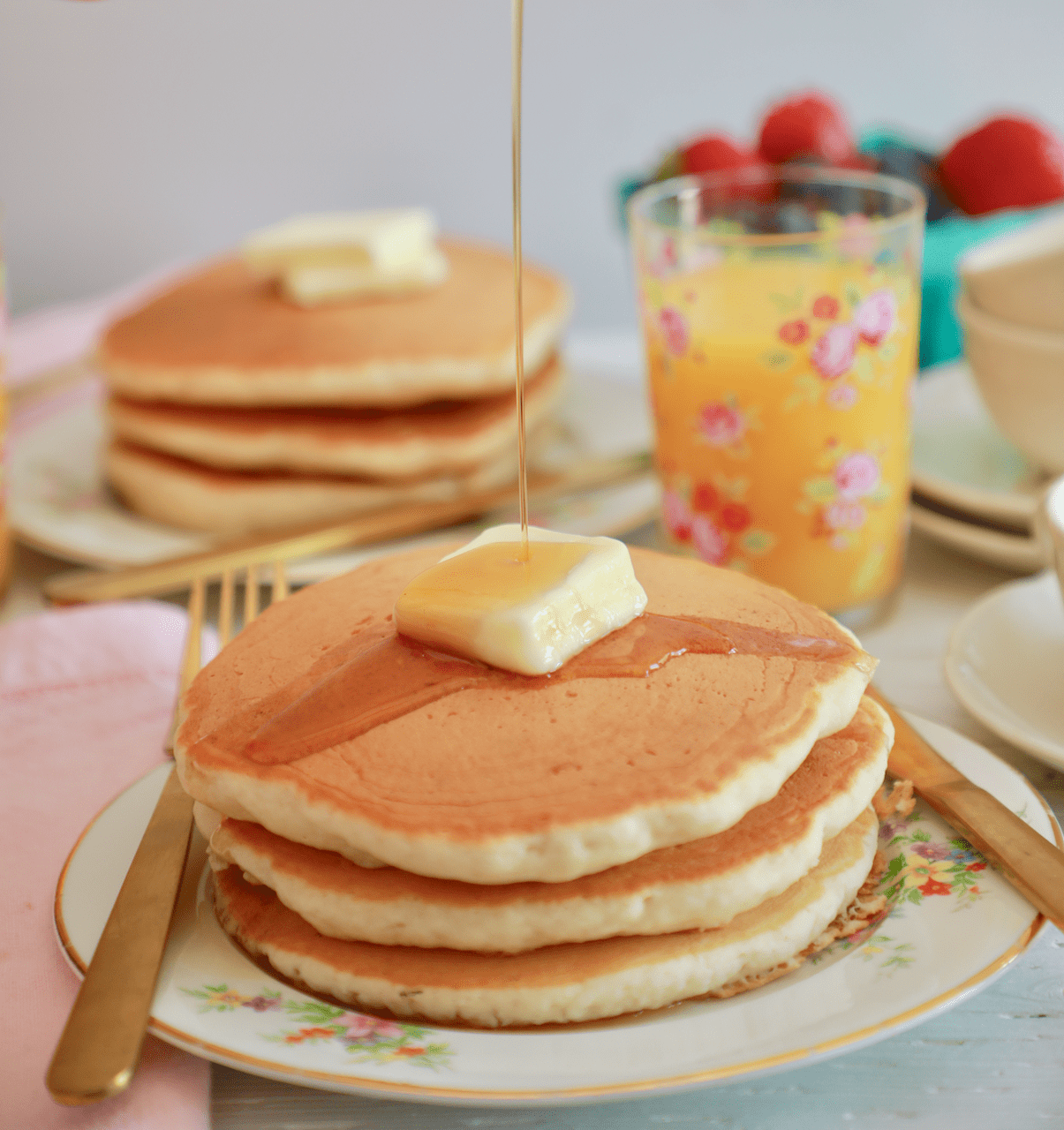 Perfect Buttermilk Pancakes Recipe With Video And Instructions
