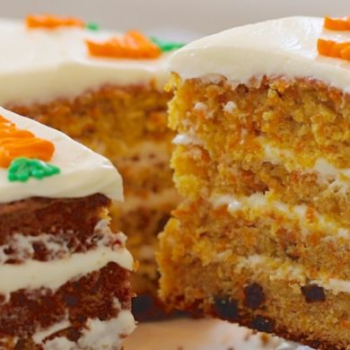 Best-Ever Carrot Cake & Cream Cheese Frosting