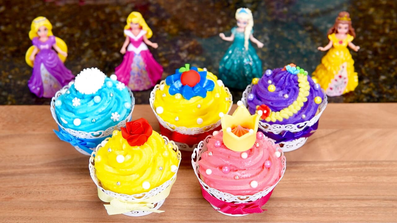 Princess Cupcake Images : Disney Princess Cupcakes with Guest Host, Jenn from ...