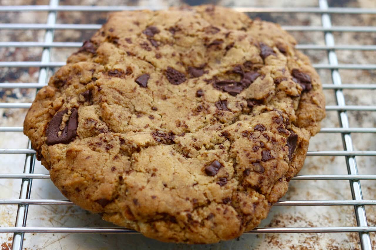 Chocolate Chip Cookies, Cookies, Chocolate Chip, Giant Cookies, Single-Serving Cookies, Single-Serving Recipes, Gemma Stafford, Bigger Bolder Baking