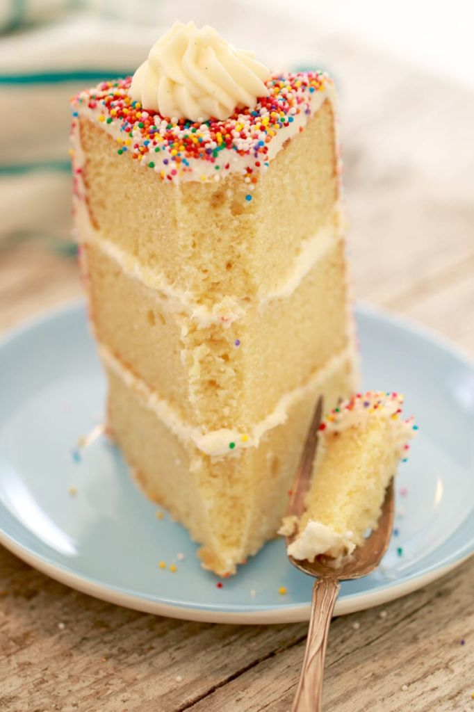 Egg Free Vanilla Birthday Cake Recipe