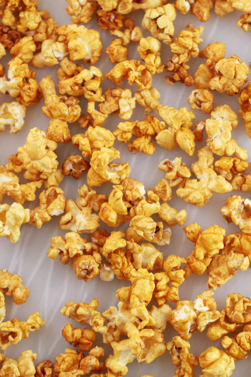 Homemade Microwave Caramel Corn Gemma S Bigger Bolder Baking