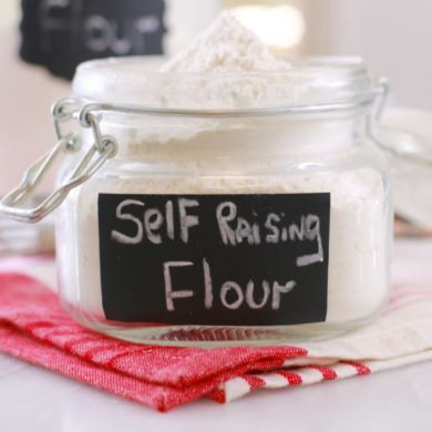 How to Make Self-Raising Flour