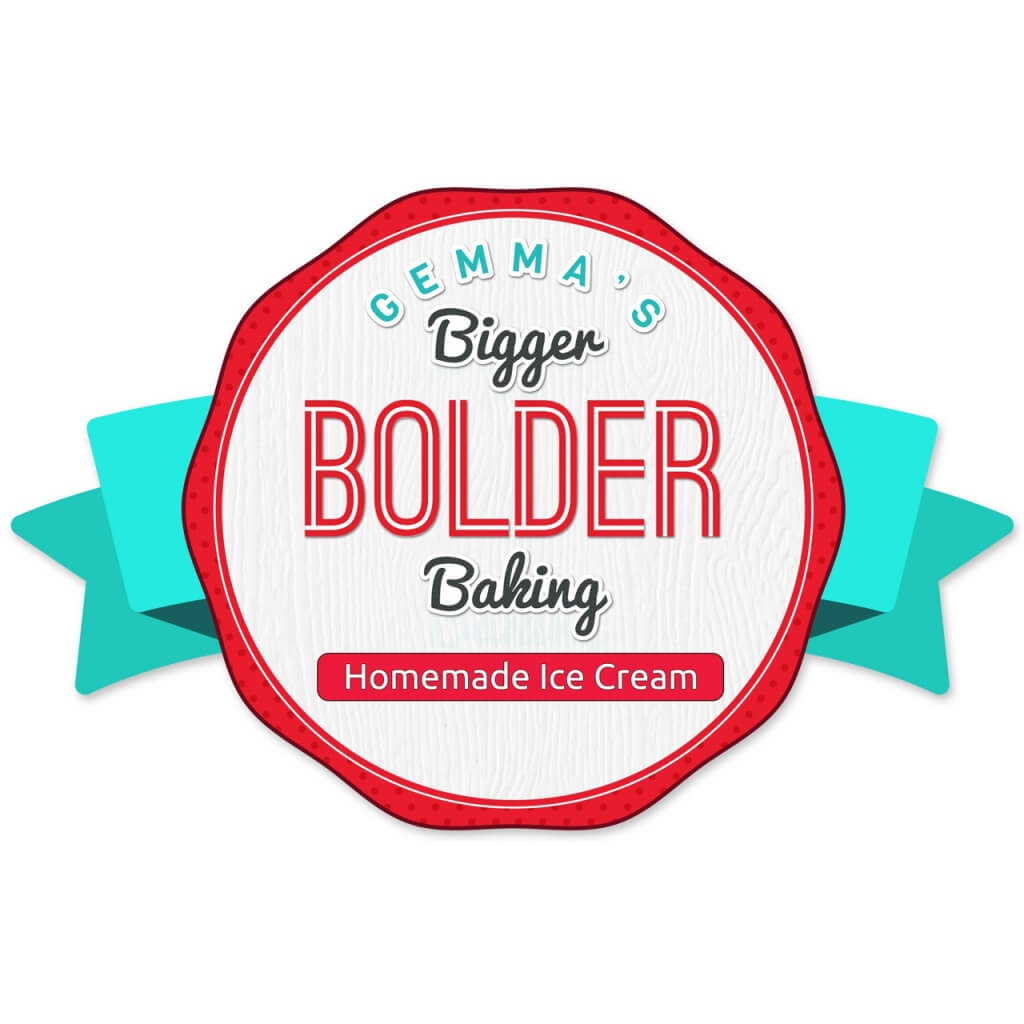 Gemma's Bigger Bolder Baking Homemade Ice Cream Labels
