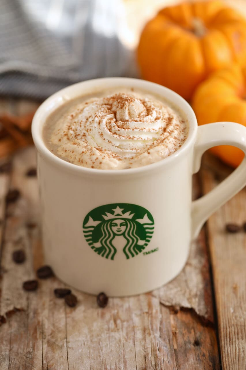 Starbucks Pumpkin Spice Latte, Starbucks drinks, how to make Starbucks Pumpkin Spice Latte, how to make Pumpkin Spice Latte, Pumpkin Spice Latte recipe, copycat Pumpkin Spice Latte, starbucks holiday drinks