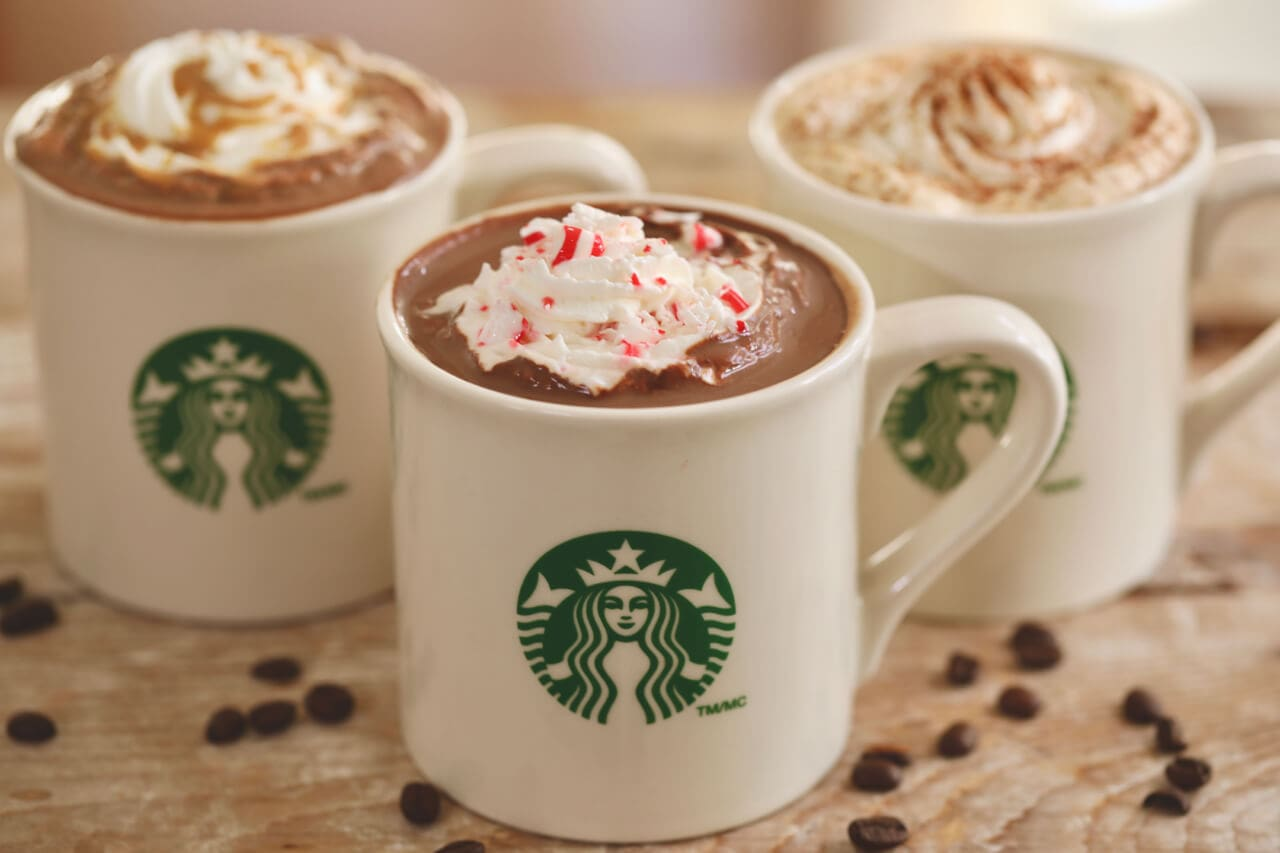 Starbucks Peppermint Mocha - Now you know how to make it at home, saving you time, money and no doubt calories too.