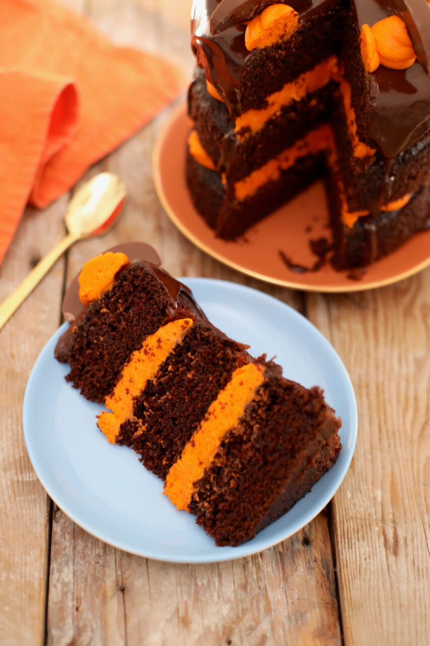 Best-Ever Chocolate and Orange Cake - Gemma's Bigger Bolder Baking
