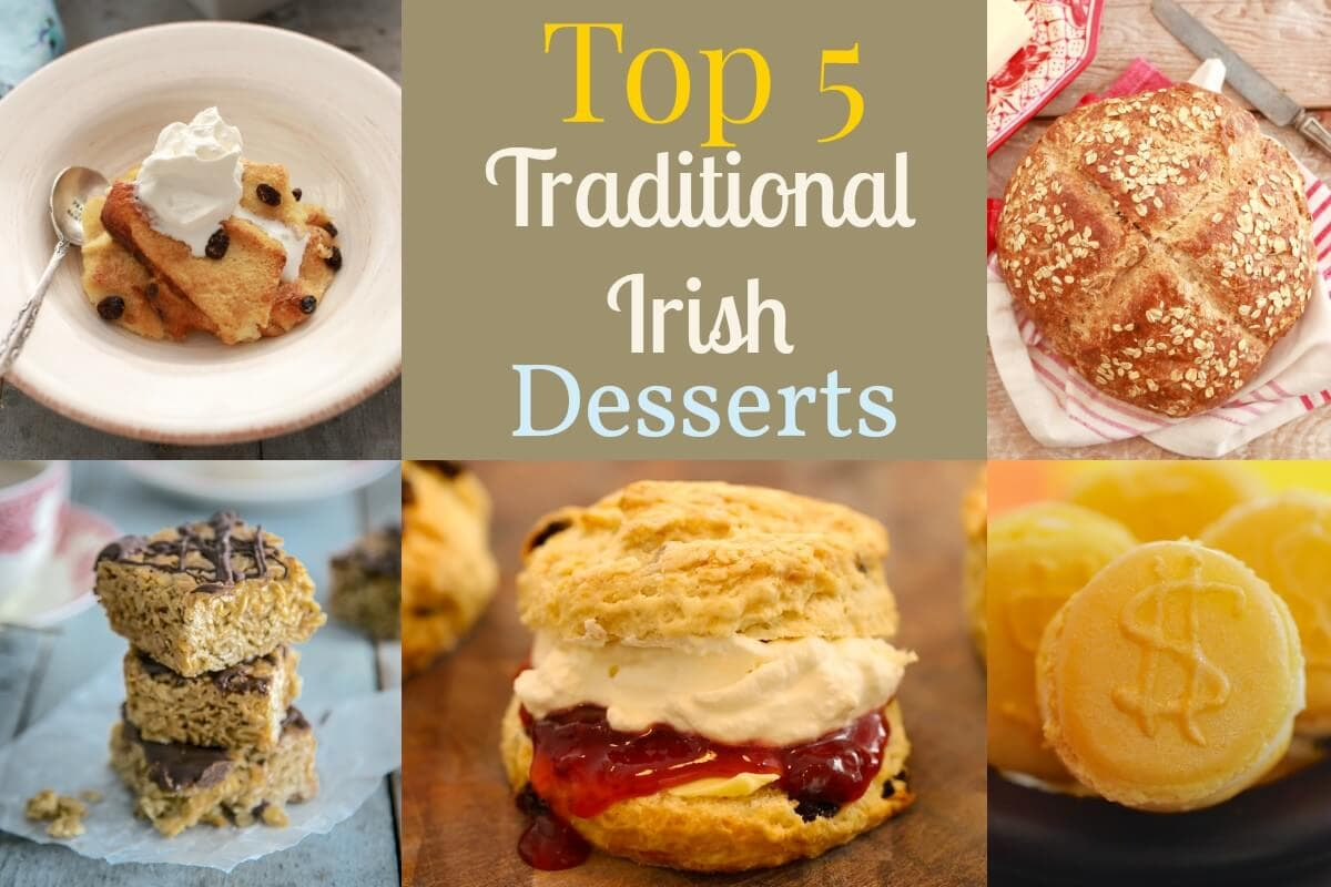 TOP 5 IRISH RECIPES FOR SAINT PATRICKS DAY!