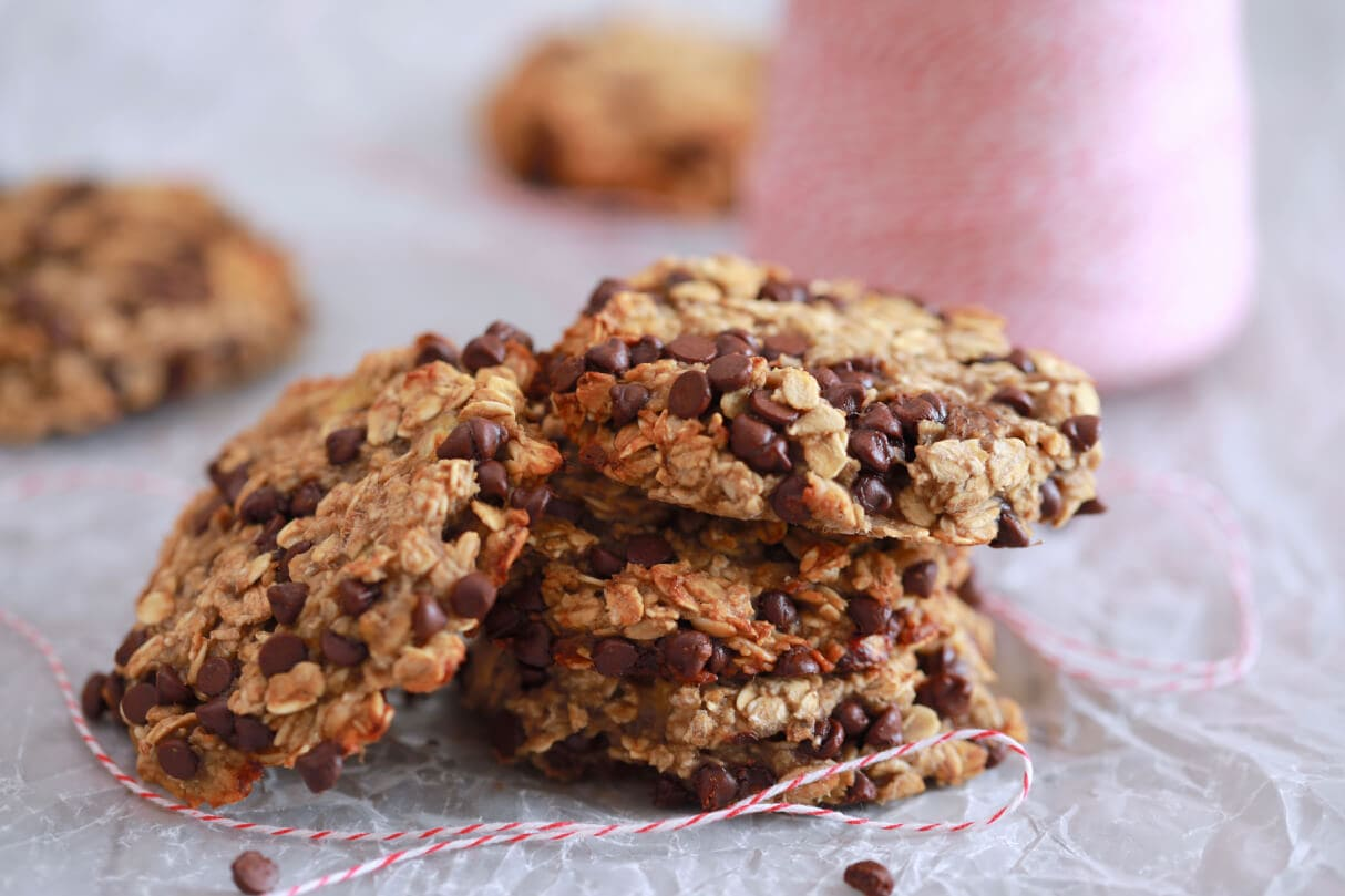 3 Ingredient Oatmeal Chocolate Chip Cookies Bigger Bolder Baking