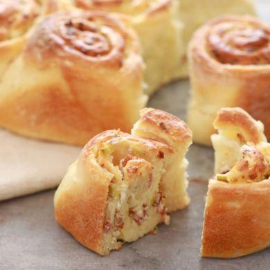Crazy Dough Stuffed Bread