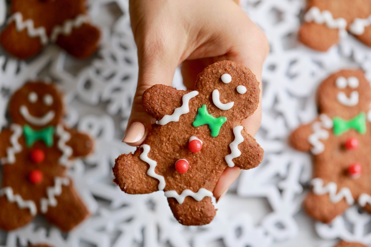 This is a picture of Versatile Gingerbread Men Image