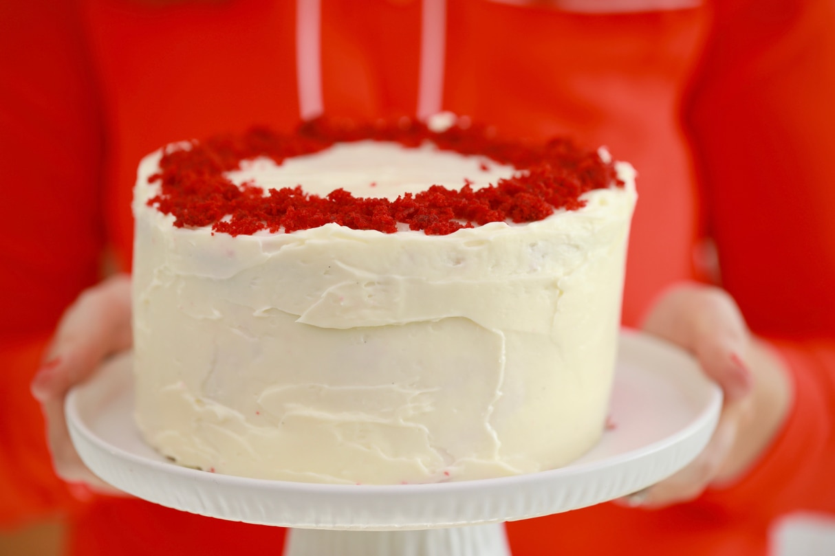 3 Layer Red Velvet Cake made in the Microwave!!! You won't believe how soft and moist this cake is that was made in a microwave