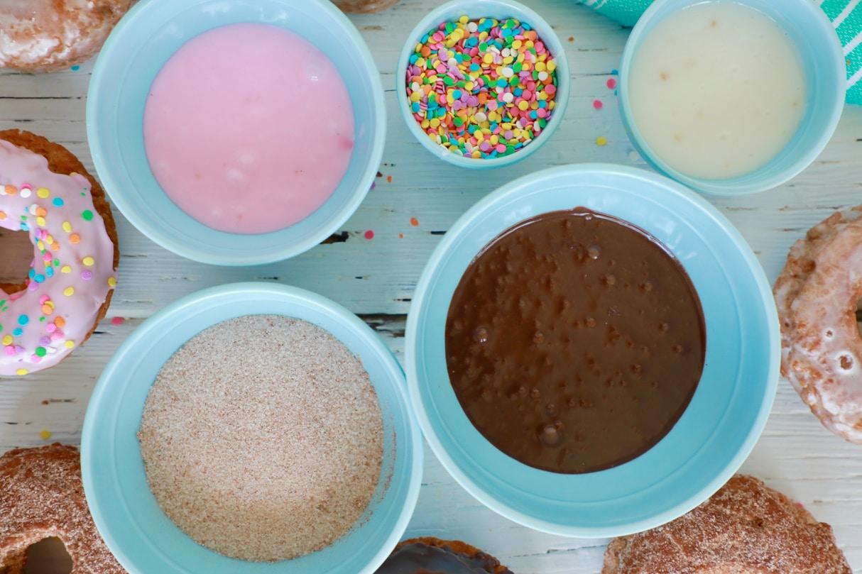 5 Donut Glaze Recipes - Gemma's Bigger Bolder Baking