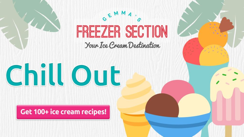 Get 100+ easy ice cream recipes and frozen desserts!