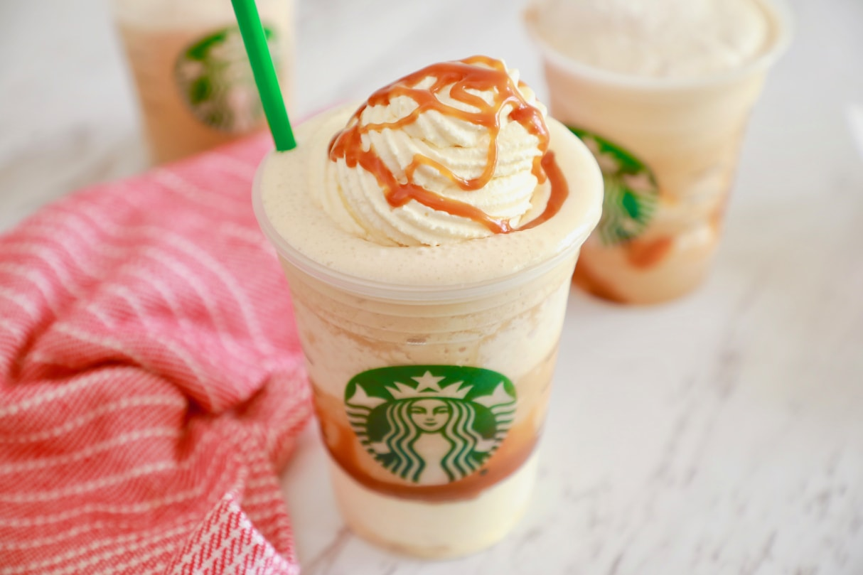 How to Make Starbucks Ultra Caramel Frappuccino recipe - Enjoy your favorite blended beverage homemade!