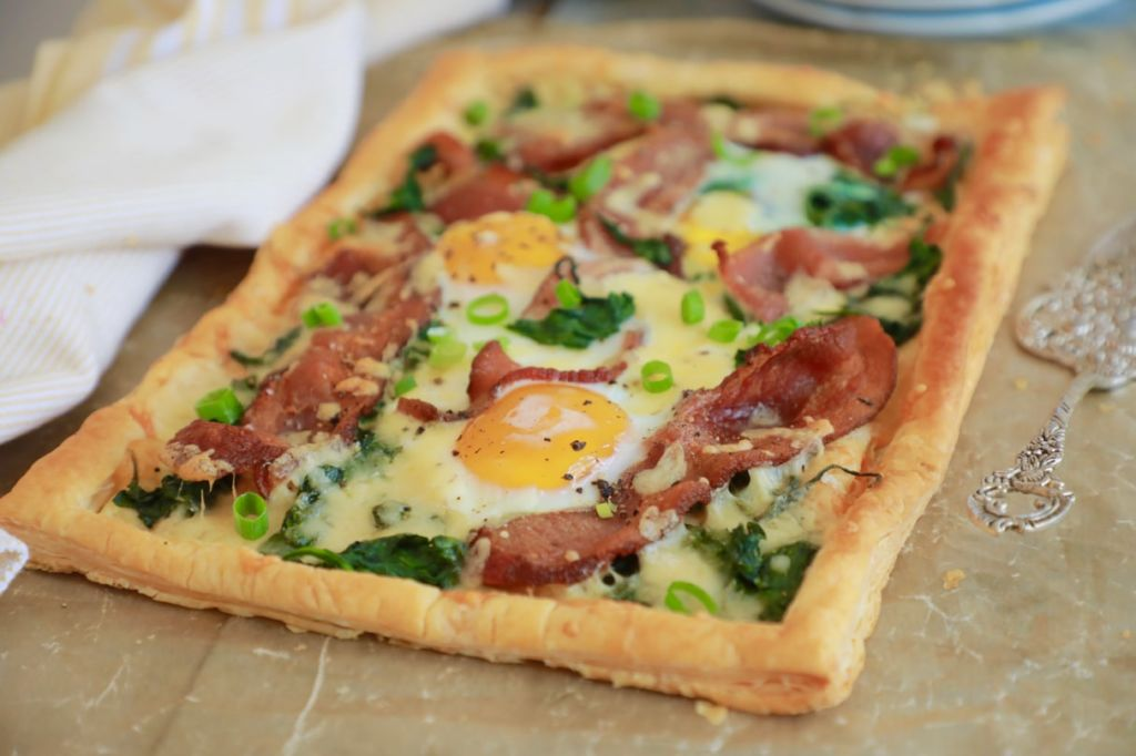 For your mouth: Breakfast Tart
