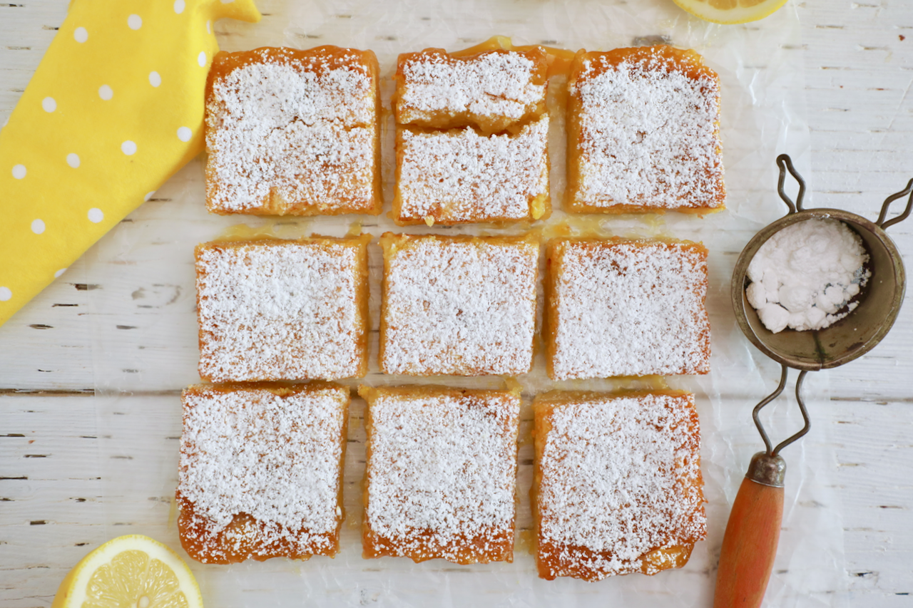 This Lemon Bars Recipe is all you need!