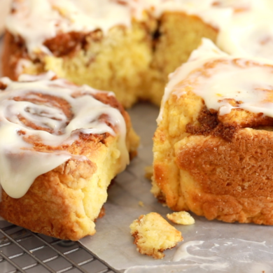 1-Hour No-Yeast Cinnamon Rolls Recipe