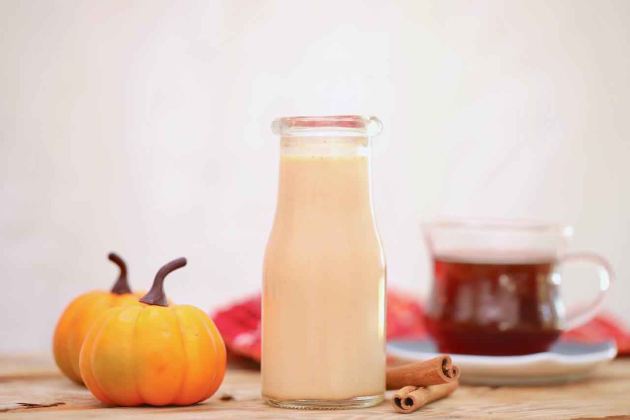 Homemade Pumpkin Spice Coffee Creamer