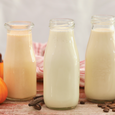 Homemade Coffee Creamer In 3 Flavors (Bailey's, French Vanilla, Pumpkin Spice)