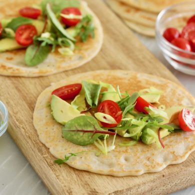 3 Ingredient Gluten Free Flatbread