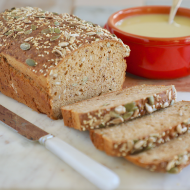 5-Minute Authentic Irish Brown Bread