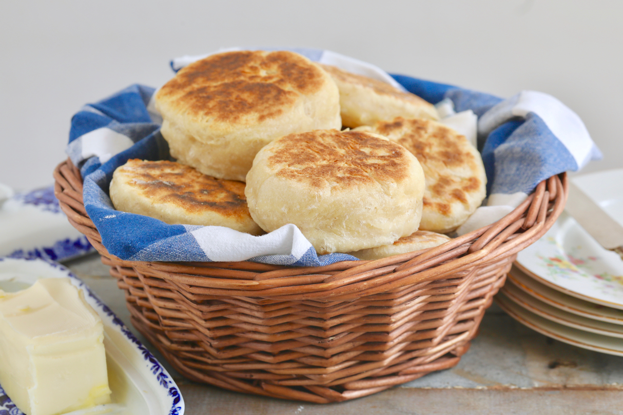 Homemade English Muffins Recipe No Knead Bigger Bolder Baking
