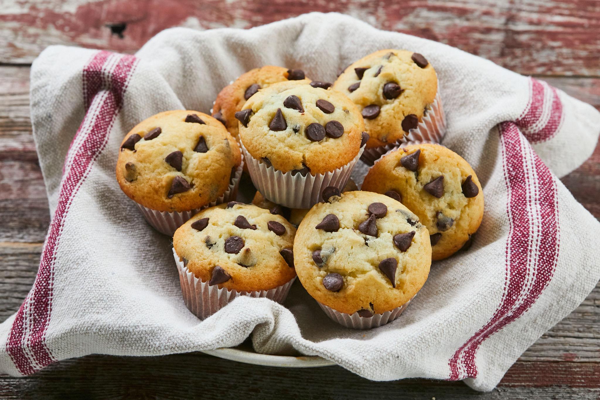 Classic Chocolate Chip Muffins Gemma S Bigger Bolder Baking