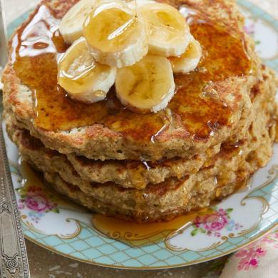 No-Fuss Flourless Oat Pancakes