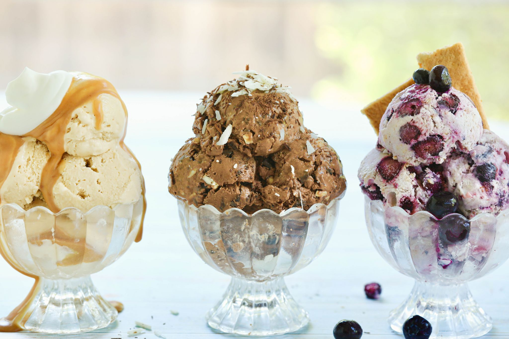 The Easiest Homemade Gelato No Machine 3 Flavors