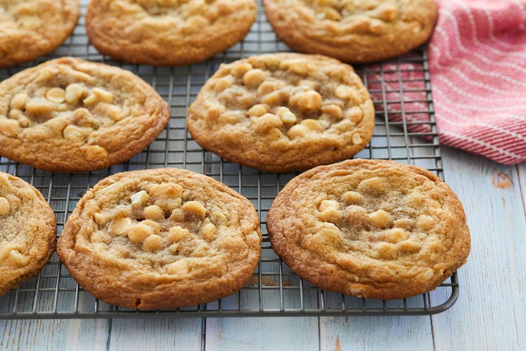 Simple White Chocolate Macadamia Nut Cookies Bigger Bolder Baking