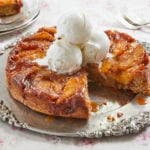 Decadent Caramel Apple Upside Down Cake