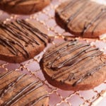 Chocolate Shortbread Cookies