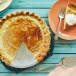 Southern Egg Custard Pie