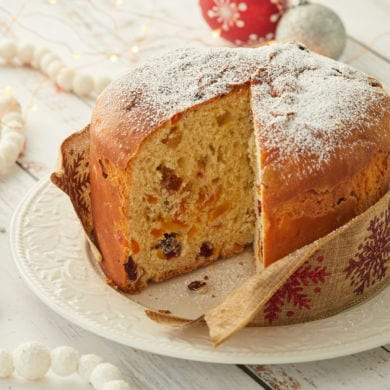 Panettone Recipe (Italian Christmas Bread)