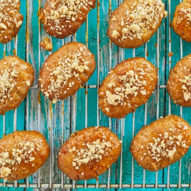 Sticky Greek Honey Cookies (Melomakarona)
