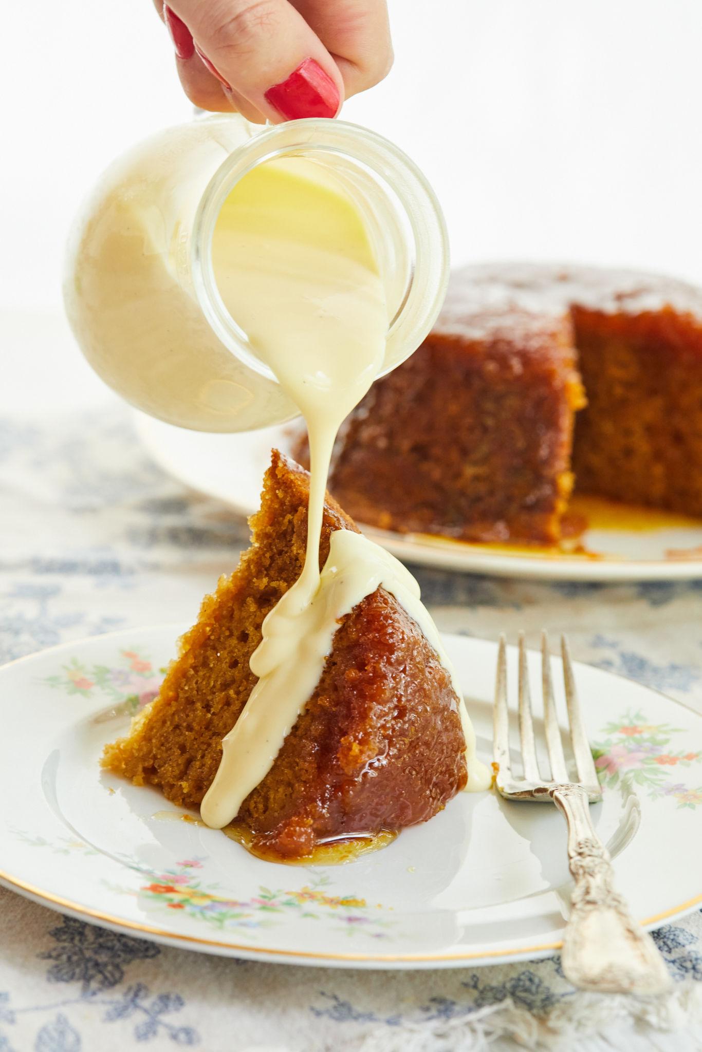 Classic Steamed Treacle Pudding Gemma S Bigger Bolder Baking
