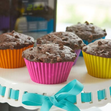 5-Minute Moist Chocolate Microwave Muffins