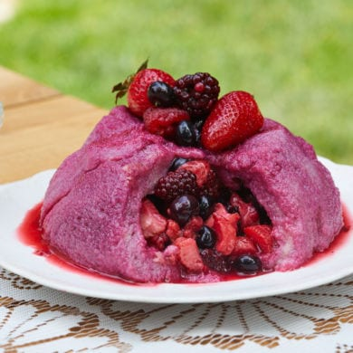 Gorgeous Summer Berry Pudding