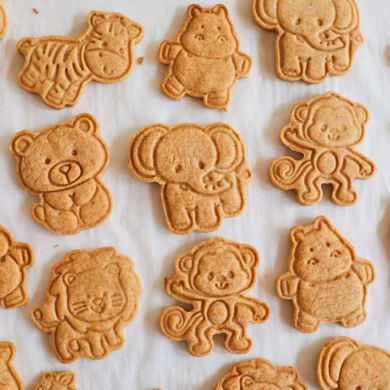 Absolutely Adorable Homemade Animal Crackers