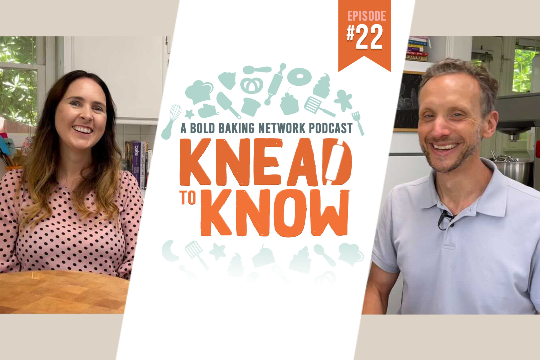 Knead to Know 22 with Gemma Stafford and Kevin Kurtz about rolling pins.
